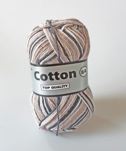 Cotton 8/4 - Bomuldsgarn - Flerfarvet - 620