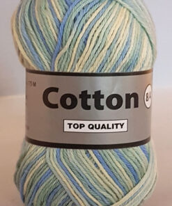 Cotton 8/4 - Bomuldsgarn - Flerfarvet - 625