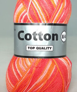 Cotton 8/4 - Bomuldsgarn - Flerfarvet - 629