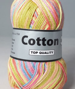 Cotton 8/4 - Bomuldsgarn - Flerfarvet - 634