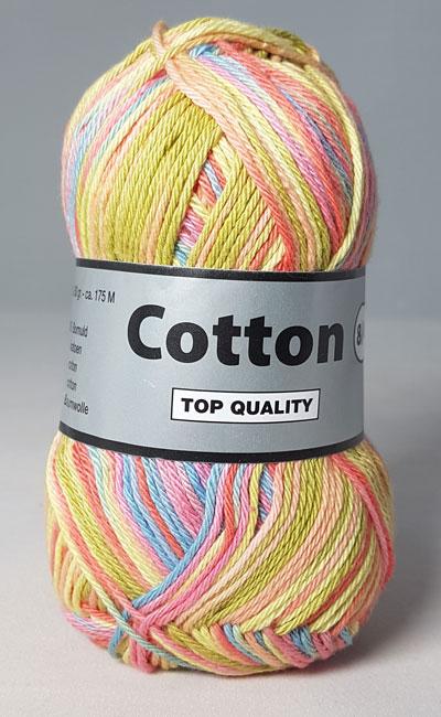 Cotton 8/4 - Bomuldsgarn - Flerfarvet - 634