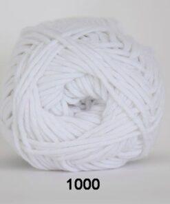 Cotton 8/8 fv 1000 Hvid