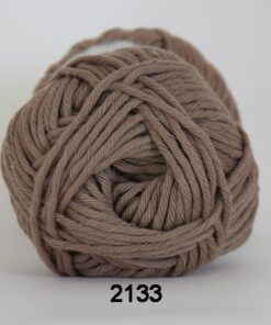 Cotton 8/8 fv 2133 Mellem Brun