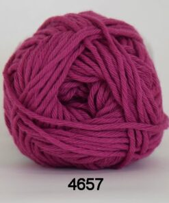 Cotton 8/8 fv 4657 Mørk Pink