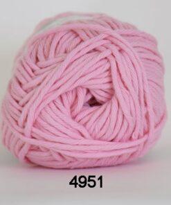 Cotton 8/8 fv 4951 Lyserød
