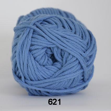 Cotton 8/8 fv 621 Blå