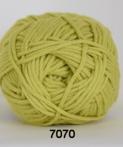 Cotton 8/8 fv 7070 Lime Grøn