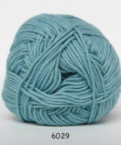Cotton nr. 8 - Bomuldsgarn - Hæklegarn - fv 6029 Lys Jade Grøn