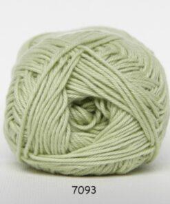 Cotton nr. 8 - Bomuldsgarn - Hæklegarn - fv 7093 Pastel Grøn