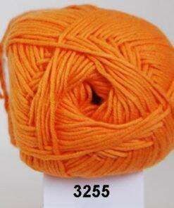 Hjertegarn Alicante - Blød Bomuldsgarn - 3255 Orange
