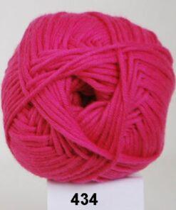 Hjertegarn Alicante - Blød Bomuldsgarn - 434 Pink