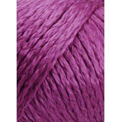 Lang yarns amira farve 65, fuchsia bomuldsgarn