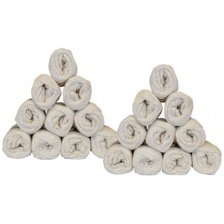 Mayflower Cotton 8/4 Garnpakke Unicolor 1401 Natur - 20 stk