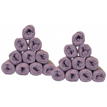 Mayflower Cotton 8/4 Garnpakke Unicolor 1478 Syren - 20 stk