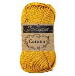 Scheepjes catona 25g, farve 249 saffron garn