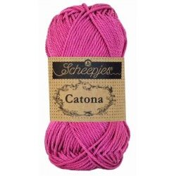 Scheepjes catona 25g, farve 251 garden rose garn