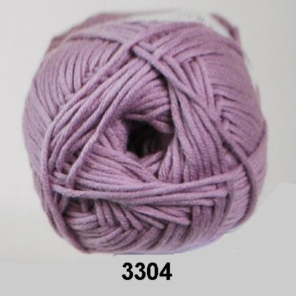 Valencia - Bomuldsgarn - fv 3304 Lavendel