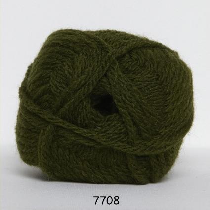 Hjertegarn Thule Uldgarn/Akrylgarn - 7708 Mos Grøn