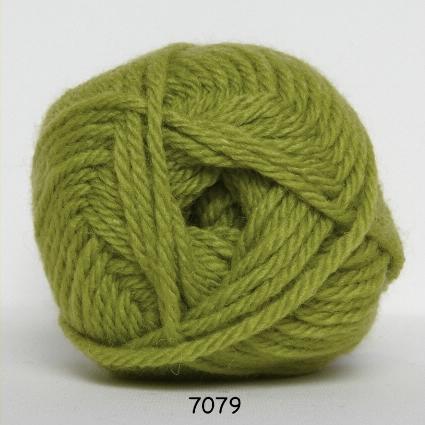 Hjertegarn Thule Uldgarn/Akrylgarn - fv 7079 Lime Grøn