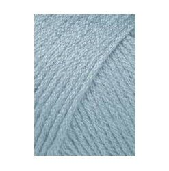 Lang yarns omega, isblå 020 akrylgarn