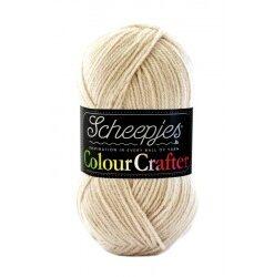Scheepjes colour crafter 100g, farve 2010 hasselt akrylgarn