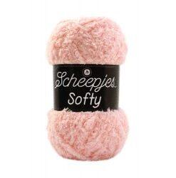 Scheepjes softy baby lyserød, 496 akrylgarn
