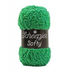 Scheepjes softy grøn, 497 akrylgarn