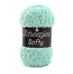 Scheepjes softy mint, 491 akrylgarn