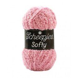 Scheepjes softy rosa, 483 akrylgarn