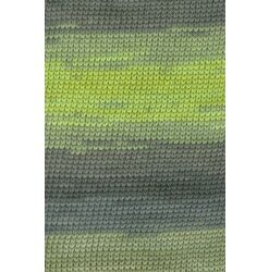Lang yarns sol dégradé farve grøn bomuldsgarn