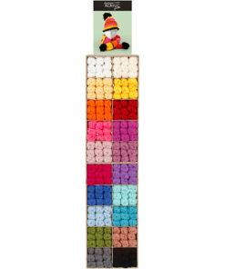 Fantasia Maxi akrylgarn, H: 2x820 mm, B: 400 mm, ass. farver, inkl. inventar, 200enh., dybde 300 mm