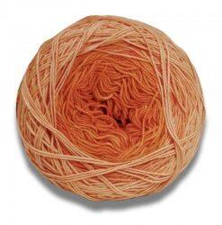 Lang yarns ayumi farve orange bomuldsgarn