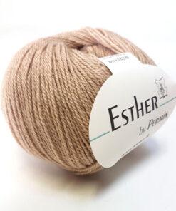 Permin Esther Garn - fv 883402 Lys Pudder