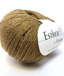 Permin Esther Garn - fv 883405 Olivengrøn