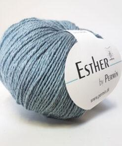 Permin Esther Garn - fv 883407 Due Blå