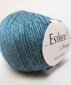 Permin Esther Garn - fv 883408 Hav Blå