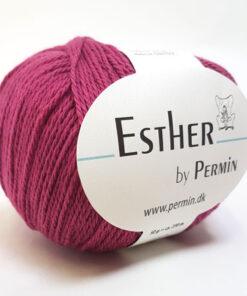 Permin Esther Garn - fv 883412 Pink