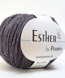 Permin Esther Garn - fv 883416 Brun Melange