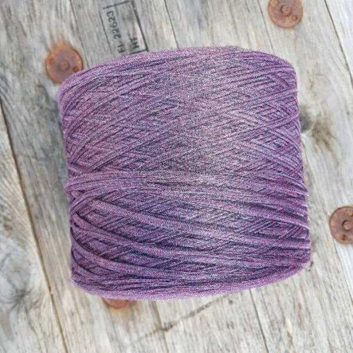 Glimmer stigegarn (1kg) - lilla