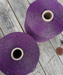 Viskose glimmergarn (900g) - violet