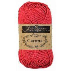 Scheepjes catona 25 g farve rød garn