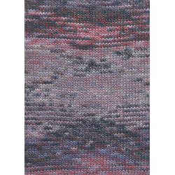 Lang yarns camille. farve 54, støvet lyserød/antracit bomuldsgarn