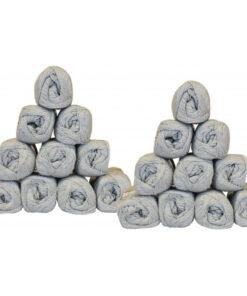 Mayflower Cotton 8/4 Garnpakke Unicolor 1440 Lysegrå - 20 stk