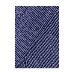 Lang yarns filo farve 10, stålblå bomuldsgarn