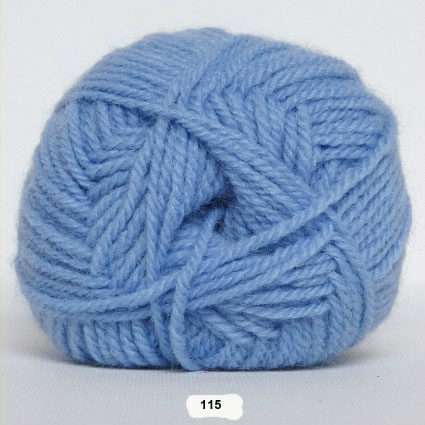 Akrylgarn - Jette Akrylgarn Hjertegarn - 115 Lyse Blå