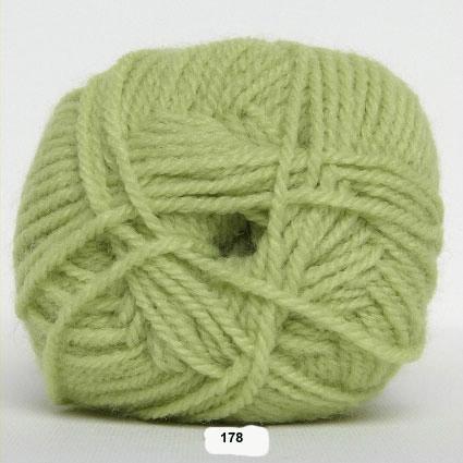 Akrylgarn - Jette Akrylgarn Hjertegarn - 178 Lys Lime Grøn