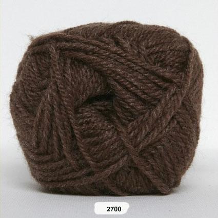 Akrylgarn - Jette Akrylgarn Hjertegarn - 2700 Brun