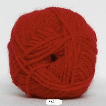 Akrylgarn - Jette Akrylgarn Hjertegarn - fv 140 Rød