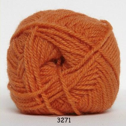 Akrylgarn - Jette Akrylgarn Hjertegarn- fv 3271 Orange