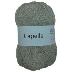 Capella gråbrun 265 garn wool4you capella